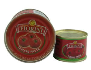 Toamto Paste (400g canned) with Fiorini Brand pictures & photos