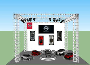 Automobiles Showroom Carport Garage Turn Table Automated Revolving Car Rotating Turner Auto Show Car Turntable Auto Show Turning Platform System pictures & photos