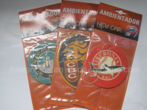 Cotton Paper Air Freshener with Strap (AFM33) pictures & photos