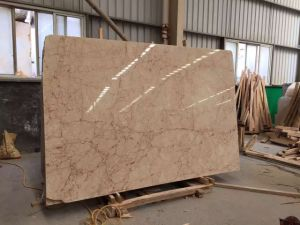 Imported Beigerose Marble Slab for Tiles/ Wall Cladding /Flooring /Background Wall pictures & photos