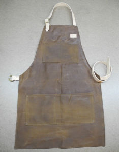 Custom High Quality Waxed Canvas Work Apron pictures & photos
