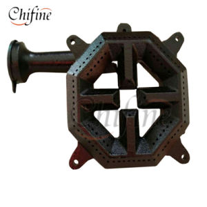 Cast Iron Natural Gas Burner with Pan Supprort Gas Grate pictures & photos