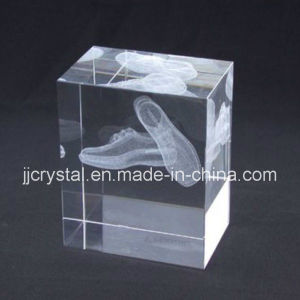 Custom Design Crystal 3D Inner Laser Engraving Cube Jd-Cc-013 pictures & photos