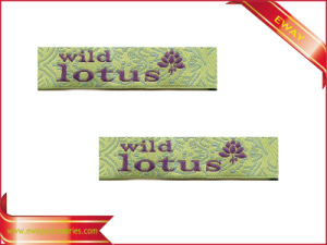 New Design Garment Woven Label Fabric Main Label pictures & photos
