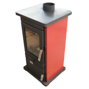 Free Standing Wood Burning Stove, Steel Stove (FL005R) pictures & photos