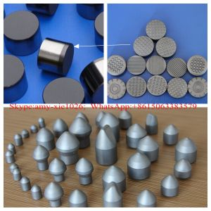 K30 Tungsten Carbide Round Substrate Tips for PDC Drill Bits pictures & photos