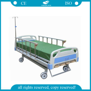 AG-BMS001b New Design 5-Function Manual Hospital Bed (AG-BMS001B) pictures & photos