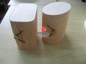 Wooden Necklace Box Natural Plain Wood Boxes pictures & photos