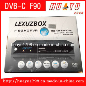 America F90 Lexuzbox F90 HD PVR Dobly DVB Cable Receiver