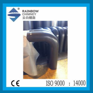 Ce Carbon Steel Circular Bend with Door Chimney pictures & photos
