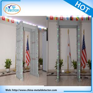 2016 New 33 Zone Walk Through Security Metal Detector pictures & photos