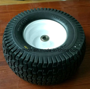 18X 8.50-8 Ribbed PU Foam Filled ATV Trailer Tire pictures & photos