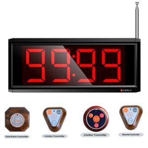 999 Transmitter Wireless Waiter/Nurse Calling System