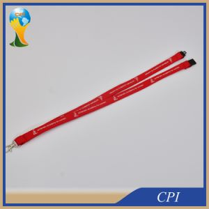 Silk Screen Printing Logo Tube Lanyard From Factory pictures & photos