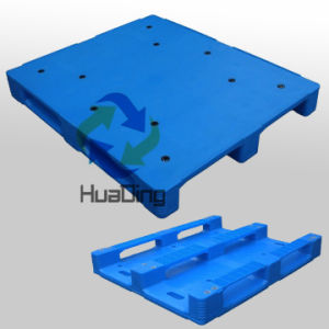 1200X1000X140mm RFID Plastic Pallets with Close Deck and 3 Runners pictures & photos