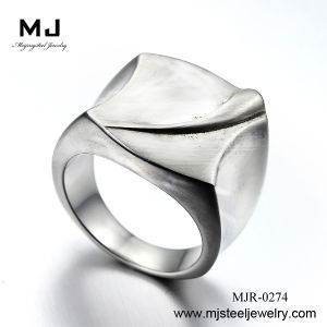 Dongguan Manufactuer Shiny Steel Crystal Ring