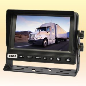 Car Monitor with LCD Screen and 2 Channels AV pictures & photos