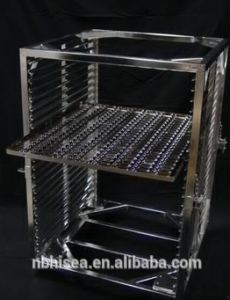 Medical Sterilization Electropolished Welded Cart Frame and Trays pictures & photos