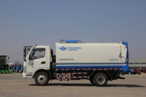 10 Cubic Metre Sanitation Truck pictures & photos