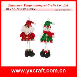 Christmas Decoration (ZY16Y105-1-2 33CM) Attractive Christmas Decoration Felt pictures & photos