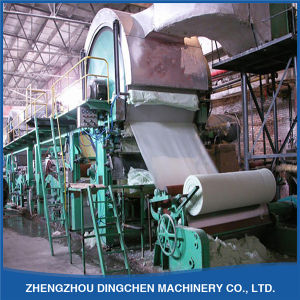 1092mm Small Waste Paper Recycling Machinery to Produce Tissue Paper pictures & photos