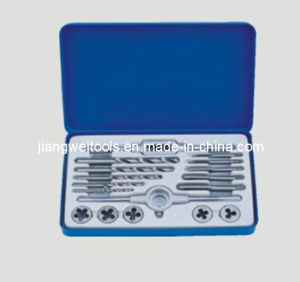 17PCS Metric Tap & Die Set, 17PC Tap and Die Set