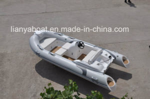 Liya 4.3m Boat for Sale Rigid Hull Fishing Inflatable Boats pictures & photos