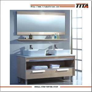 Modern Bathroom Furniture/Double Wash Basin Cabinet/Bathroom Furniture Guangzhou (TH9029)