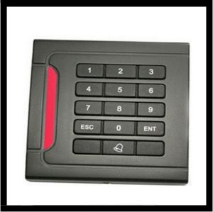 RS232/485 TCP/IP Single Door Access Control Keypad Wiegand RFID Reader pictures & photos