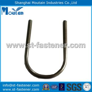 Carbon Steel Yellow Zinc Plated U Bolts