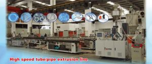 High Speed Small Tube Extrusion Line