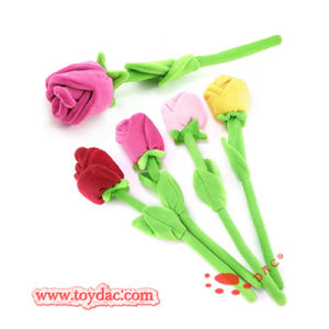 Plush Color Flower Plush Rose Toy pictures & photos