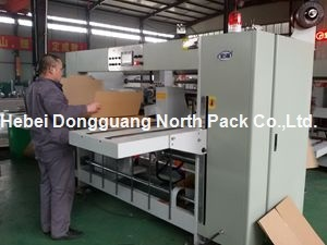 Semi-Auto Corrugated Paper Stitching Machine pictures & photos