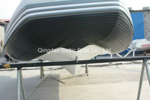 Inflatable Boat Rib with Fiberglass Floor 470 for Fishing Ce