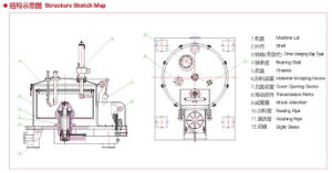 Vertical up Discharging Scraper Centrifuge
