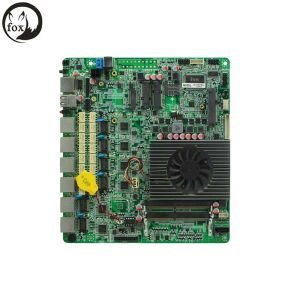 Firewall Appliance Motherboard with 6 LAN DC, Integrated 6*Intel Wgi210at Gigabit Ethernet pictures & photos