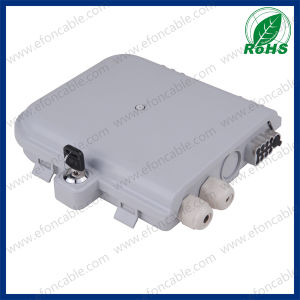 ABS Material FTTH Fiber Optic Terminal Box 1*8 pictures & photos