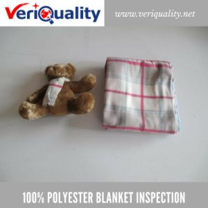 00% Polyester Blanket Quality Control Inspection Service at Shaoxing, Zhejiang pictures & photos