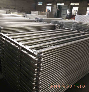 1.8X2.1 Heavy Duty Galvanized Oval Cattle Yard Livestock Corral Panel pictures & photos