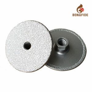Thickened Vacuum Brazed Diamond Grinding Wheel pictures & photos