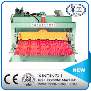High Quality Glazed Tile Roofing Sheet Forming Machine pictures & photos