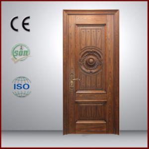 Cheap Security Door Teak Wood Main Door Designs pictures & photos