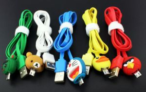 LED Cartoon Cable for Android Cellphone 1.0m pictures & photos
