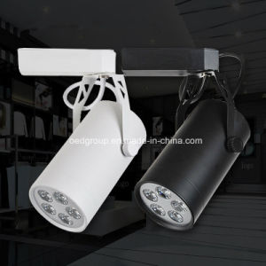 2016 Black and White Color 220V LED Track Light pictures & photos