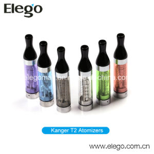 EGO New Electronic Cigarette T2 Cc Clearomizer (T2 atomizer) pictures & photos