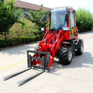 Articulated Compact Small Mini Wheeled Dumper Loader pictures & photos