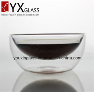 Double Wall Glass Bowl/Borosilicate Glass Drinking Glass Mug Cup pictures & photos