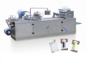 Dzp-500s Automatic Blister Card Packing Machine pictures & photos
