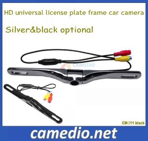 High Quality Metal Housing HD Universal License Plate Car Reversing Vehicle Camera pictures & photos