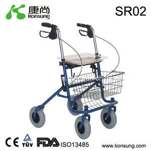 4 Wheels Steel Rollator (SR02)
